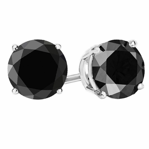 e0d436679 BlackDiaRdER_WG. Previous; Next. Previous; Next. 0.25 Ct Twt Black Diamond  Stud Earrings in Sterling Silver