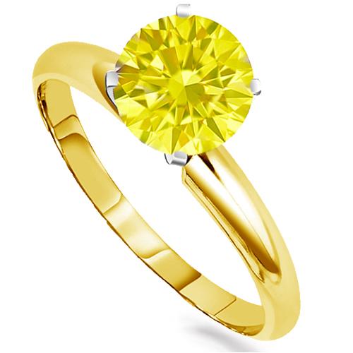 YellowDiaRingYG